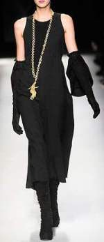 a line dress- Yves Saint Laurent