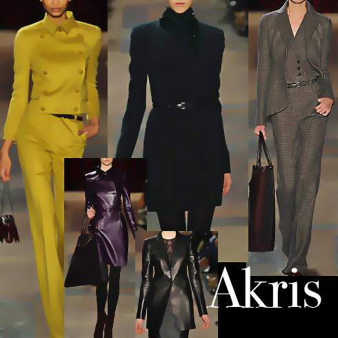 akris fashion designer