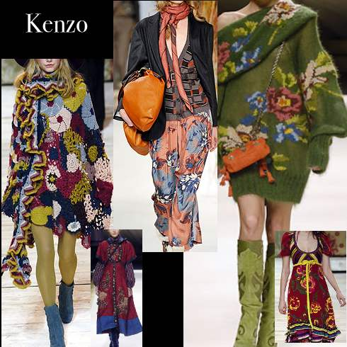 Designer Boho Clothing Fashion Designer Kenzo