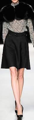 a line skirt Yves Saint Laurent